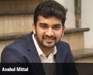 Anshul Mittal, Co-Founder, Konsult App
