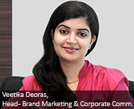 Veetika Deoras, Head - Brand Marketing & Corporate Communication, Tata Capital