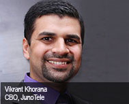 Vikrant Khorana, Chief Business Officer, JunoTele
