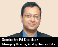 Somshubhro (Som) Pal Choudhury, Managing Director, Analog Devices India & Jon Bentley, Segment Regi