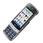 Crystal Phone with Transparent  Keypad from LG