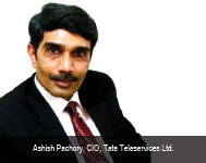 By Ashish Pachory, CIO, Tata Teleservices Ltd.