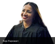 Raja Rajeshwari Becomes first Indian Woman Judge in NY