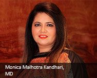 Monica Malhotra Kandhari, MD, MBD Group
