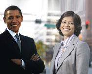 Prachee Devadas Shares Stage with President Barack Obama