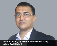 Arindam Sarma, Dy. General Manager – IT (CIO), Albert David Limited