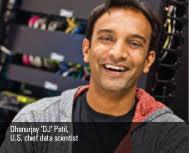 'DJ' Patil named first U.S. chief data scientist