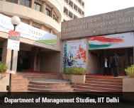 Department of Management Studies, IIT Delhi: The Search for Knowledge Ends Here