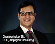 Chandrashekar BN, Chief Consulting Officer, Ampligrow Consulting