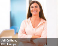 Julie Cullivan, CIO, Fire Eye