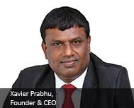 Xavier Prabhu, Founder & CEO, PRHUB