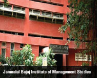 Jamnalal Bajaj Institute of Management Studies: Education through Experiences