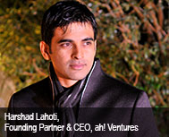 Harshad Lahoti, Founding Partner & CEO, ah! Ventures