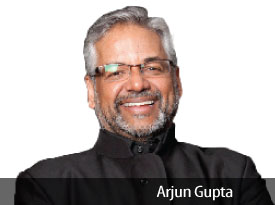 Arjun Gupta: 5 Decades Of Venturing and Adventuring!