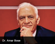Audio Engineering Pioneer  Dr. Bose Passes Away