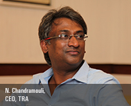 N. Chandramouli, CEO, TRA