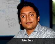 Saket Setu, CEO, C-Zentrix