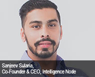 Sanjeev Sularia, Co-founder & CEO, Intelligence Node