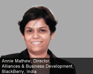 By Annie Mathew, Director, Alliances & Business Development, BlackBerry, India