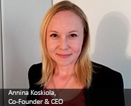 Annina Koskiola, Co-Founder & CEO, Proximi.io
