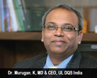 Stefan Heinloth, MD & Chairman of the Executive Board, DQS Holding GmbH &  Dr. Murugan. K, MD & CEO,