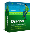 Dragon NaturallySpeaking 10 software