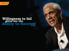 Willingness to fail gives me the Ability to Succeed