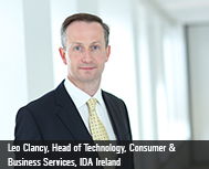 Leo Clancy, Head of Technology, Consumer & Business Services, IDA Ireland