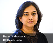 Nupur Shrivastava, HR Head - India, ARM