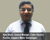 By Vijay Bharti, General Manager, Cyber Security Practice at Happiest Minds Technologies