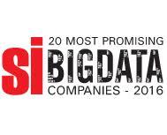 20 Most Promising Big Data Companies 2016