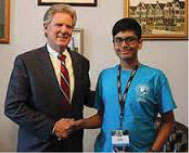 Indian-American student wins the prestigious National...