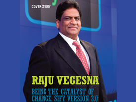 Raju Vegesna: Being the catalyst of change, Sify version 3.0