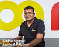 Sandeep Aggarwal, Founder & CEO, Droom