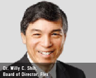 Dr. Willy C. Shih, Board of Director, Flex