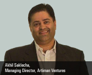 Akhil Saklecha, Managing Director, Artiman Ventures