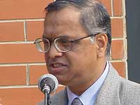 Murthy to step down in August