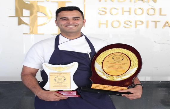 Chef Mohib Farooqui wins India's Best Chef Academician for 2018