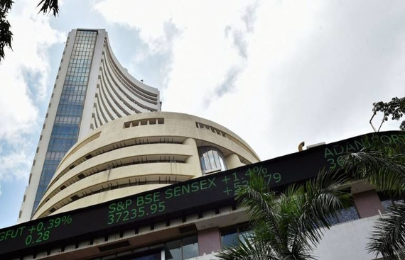 Sensex trades over 49,000 on global cues, Q3 earnings