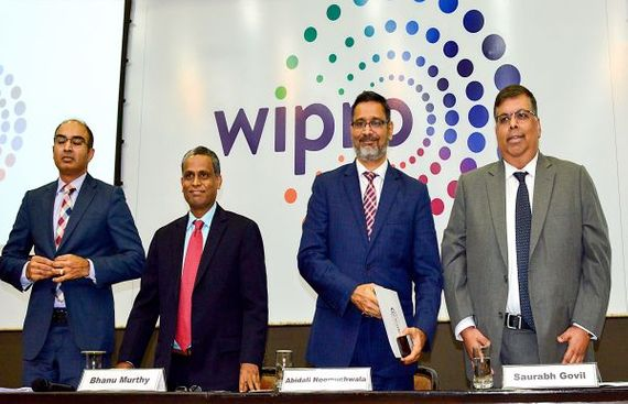 Wipro Net Rises 12.6% in First Quarter