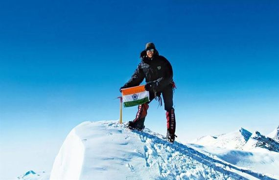 Age no bar to chase dreams: Woman mountaineer