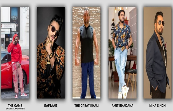 Collaboration of Bollywood Celebrities and Heavyweight champion with nOFTEN, India's largest NFT marketplace