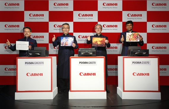 Canon Augments its Flagship PIXMA G-Series Portfolio