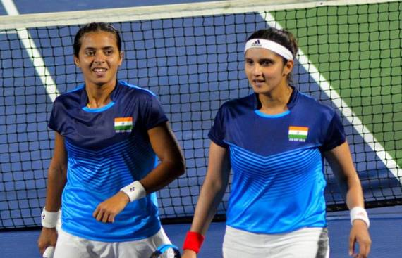 Sania, Ankita to lead India in Billie Jean King Cup World Group playoff