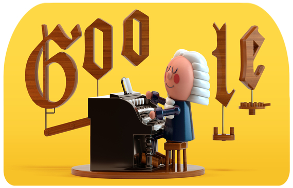 Google honours Bach with first AI-powered Doodle