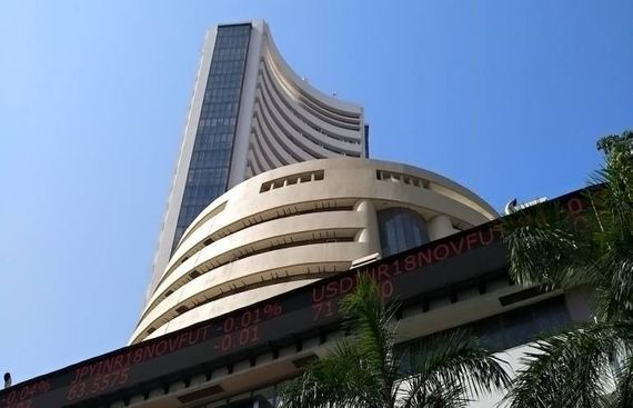 Sensex Slips 286 Points After RBI Cuts Growth Forecast