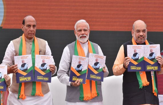 Major promises in BJP's manifesto
