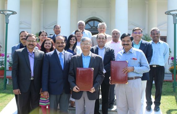 ISRO & IIT Roorkee Signs MoU to Set Up ISRO-IITR Space Technology Cell at IIT Roorkee