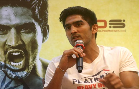 Vijender to return to ring next month, opponent not announced