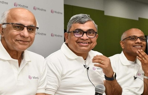 Mindtree?s Founders Resign as L&T Takes Over the Company